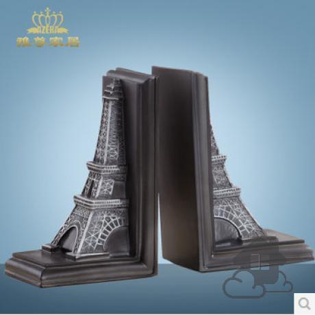 诶佛尔艾埃菲尔铁塔模型家居书房创意摆件欧式桌面书